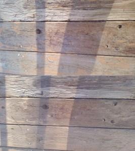 Deck staining prep