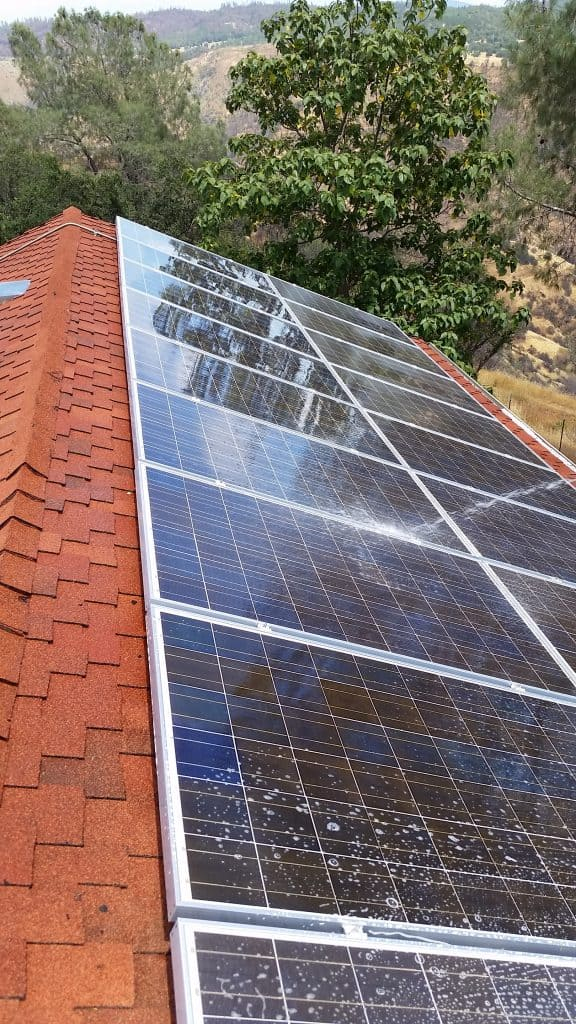 solar panel cleaning in northern california