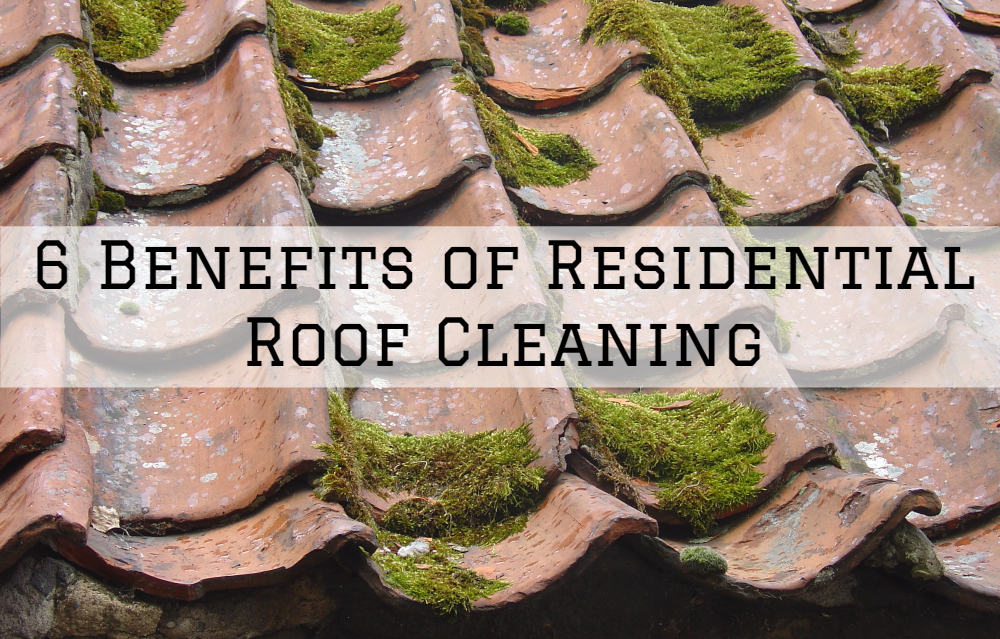 6 Benefits of Residential Roof Cleaning in Amador County, California.