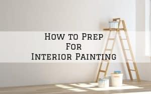 Interior painting prep