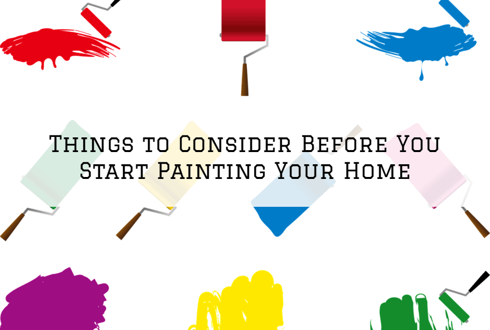 Things to Consider Before You Start Painting Your Home in Amador County, CA