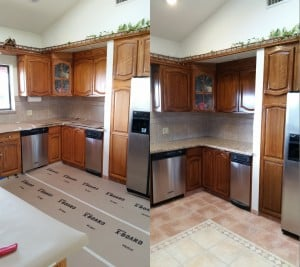 Cabinet Refinishing in Amador County