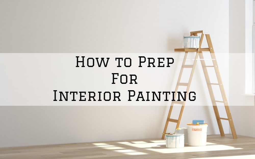 Interior painting prep