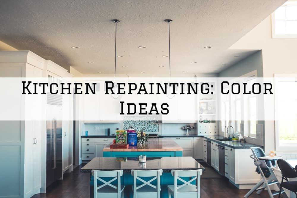 Kitchen Repainting Amador County, California: Color Ideas